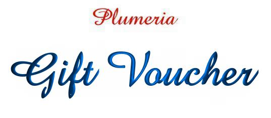 Click To See Our Fantastic Range Of Plumeria Gift Vouchers